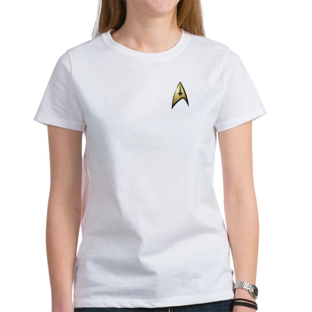 Star Trek: TOS Command Emblem Women's T-Shirt