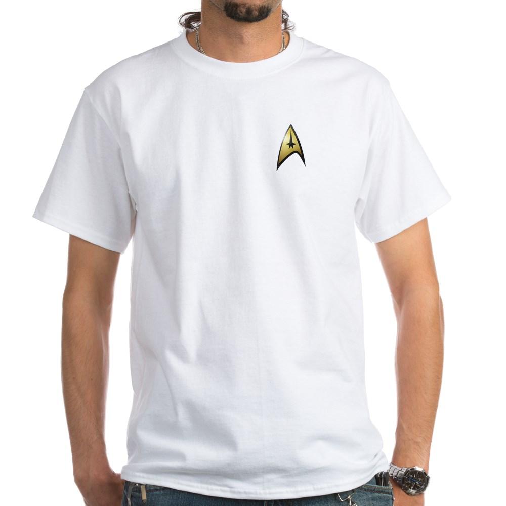 Star Trek: TOS Command Emblem White T-Shirt