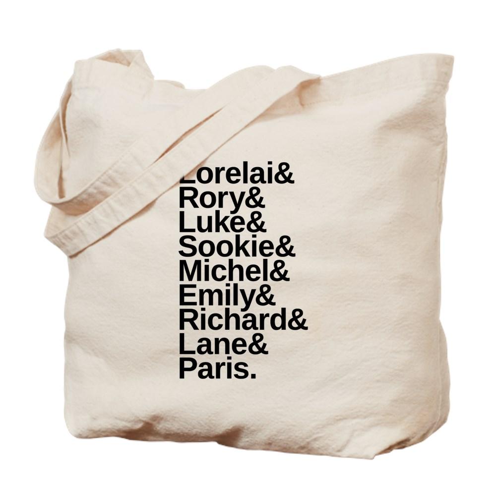 Gilmore Girls Name List Tote Bag