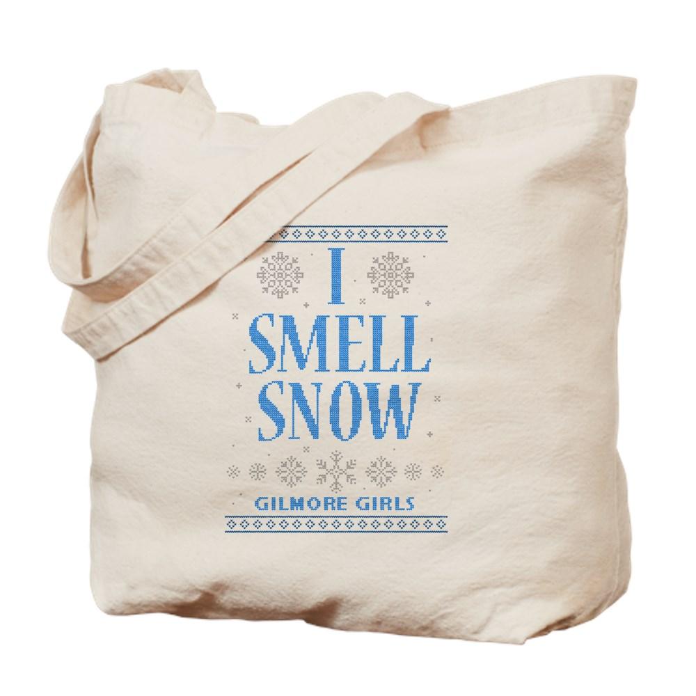 I Smell Snow Ugly Christmas Sweater Tote Bag
