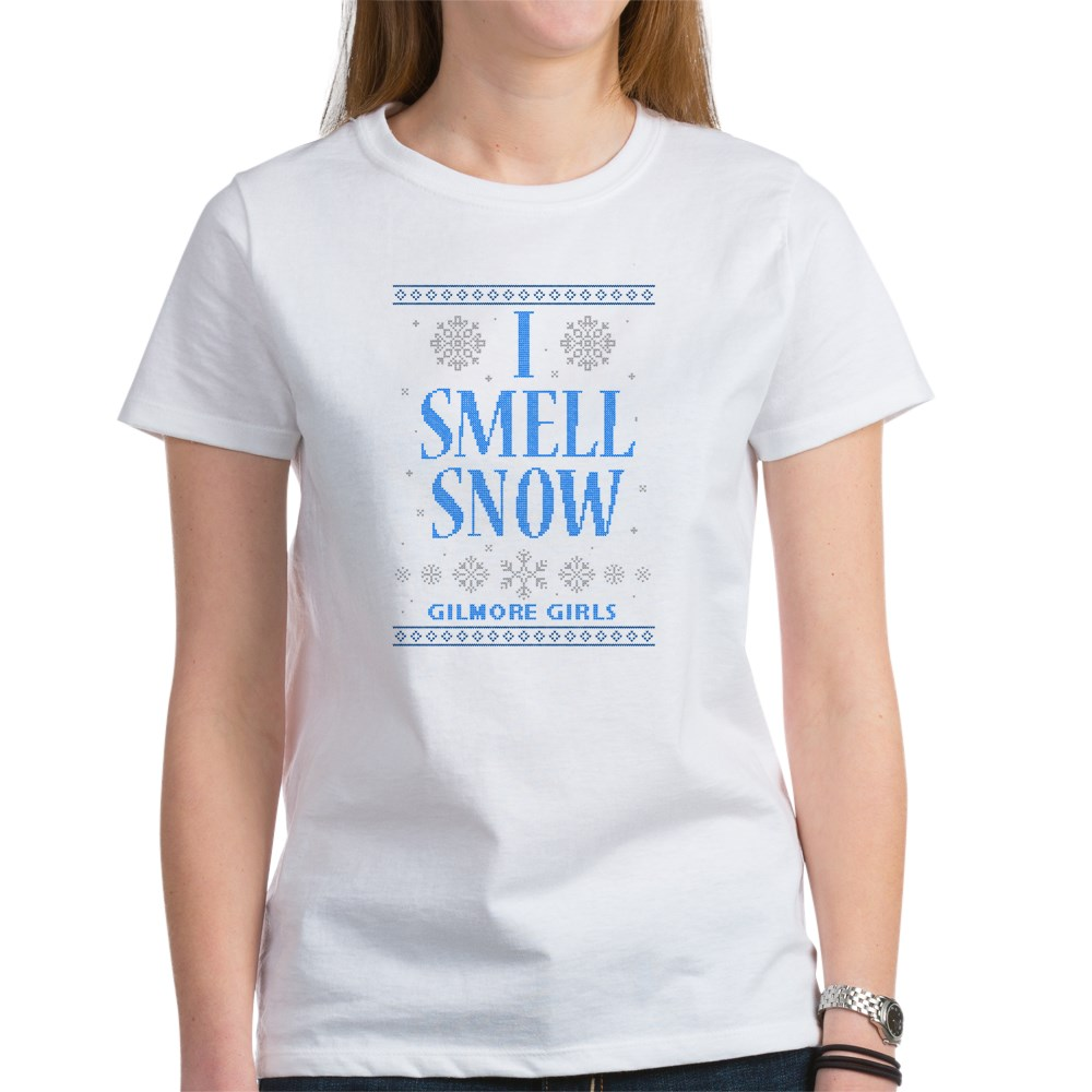 I Smell Snow Ugly Christmas Sweater Women's T-Shirt