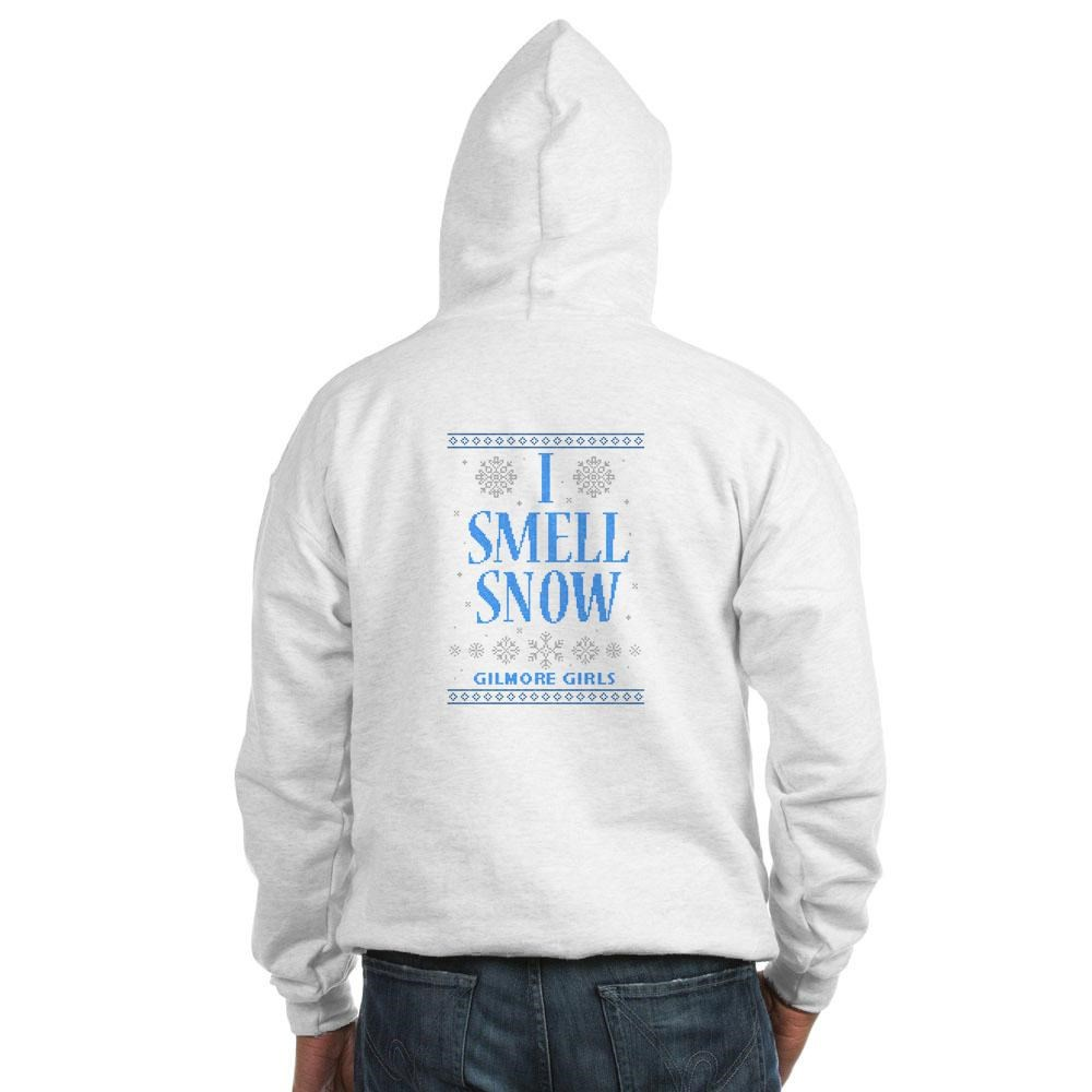 I Smell Snow Ugly Christmas Sweater Hooded Sweatshirt