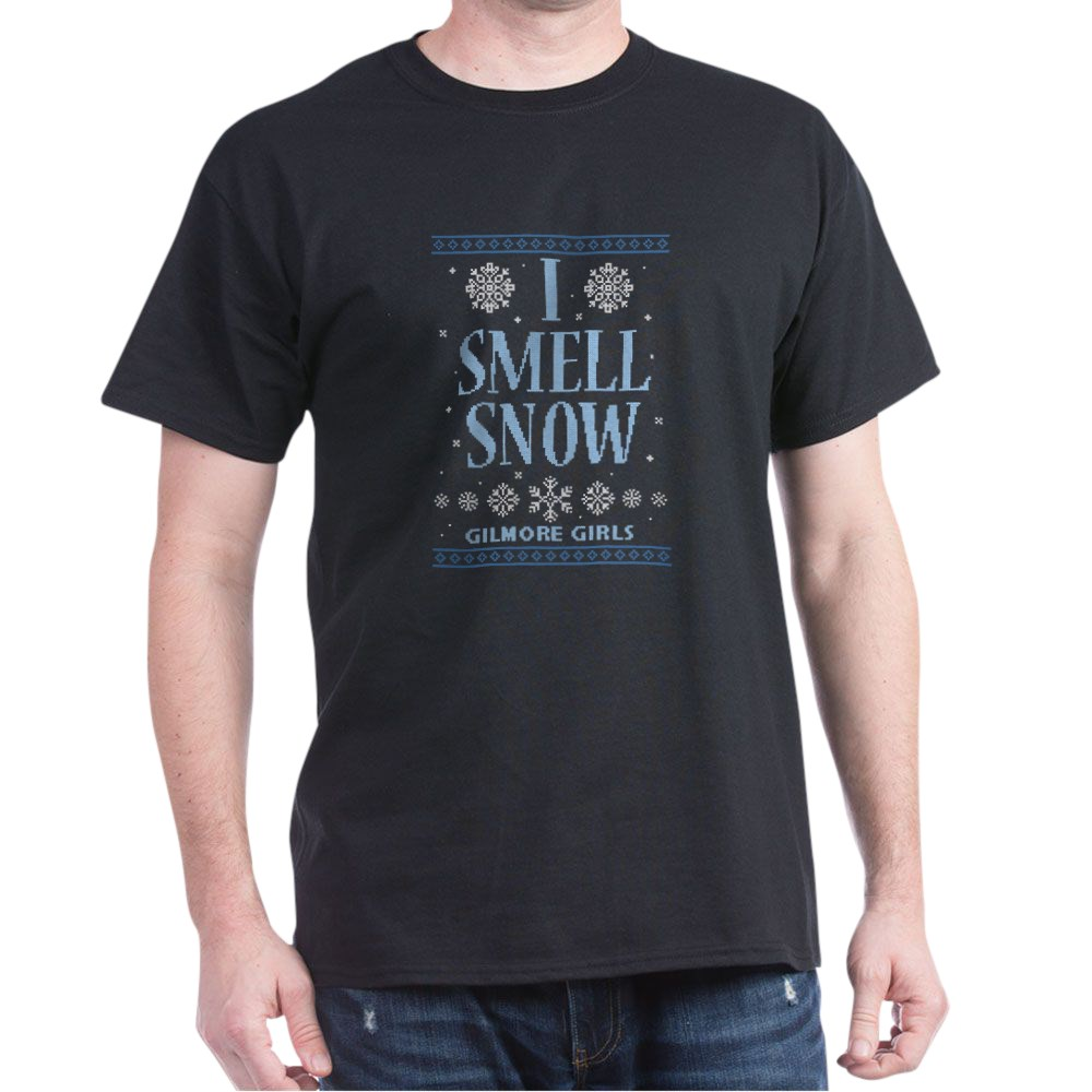 I Smell Snow Ugly Christmas Sweater Dark T-Shirt