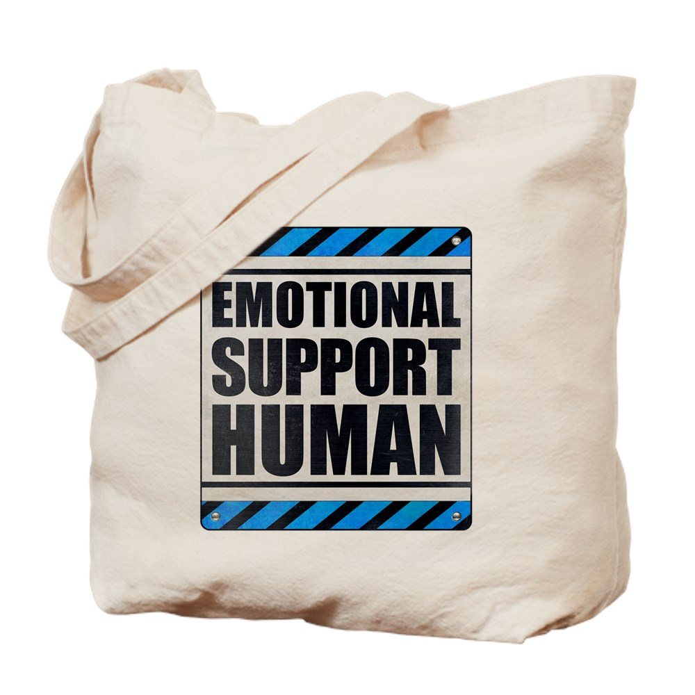 Emotional Support Human Tote Bag