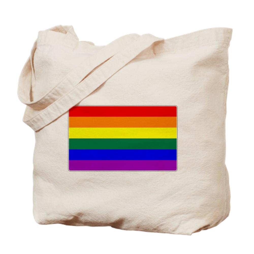 LGBTQ Rainbow Pride Flag Tote Bag