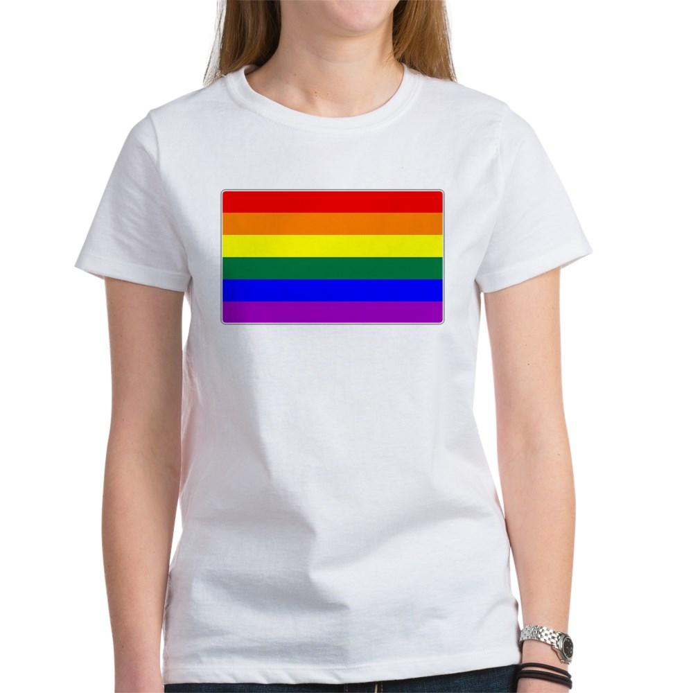 LGBTQ Rainbow Pride Flag Women's T-Shirt