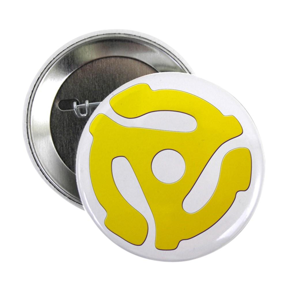 Yellow 45 RPM Adapter 2.25