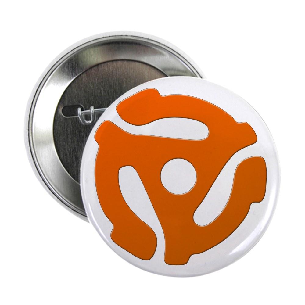 Orange 45 RPM Adapter 2.25