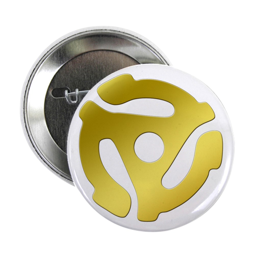 Gold 45 RPM Adapter 2.25