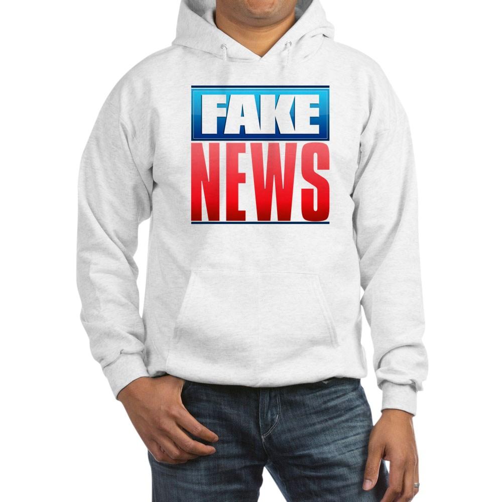 Fake News Network Logo Hooded Sweatshirt