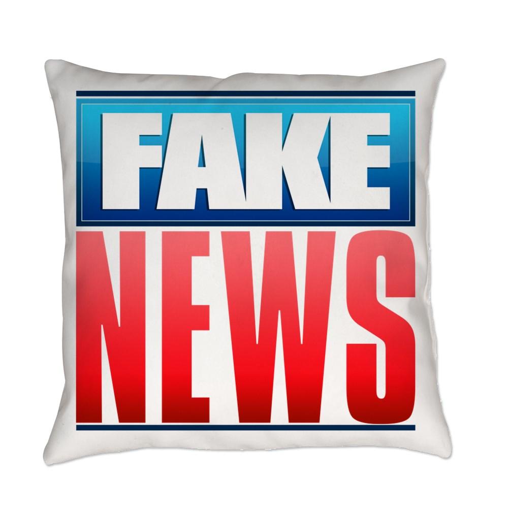 Fake News Network Logo Everyday Pillow