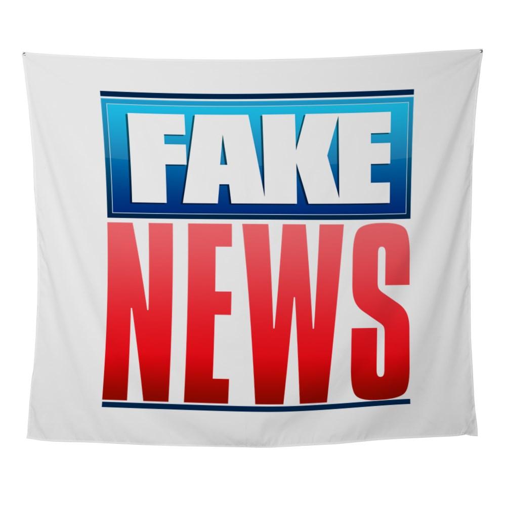 Fake News Network Logo Wall Tapestry