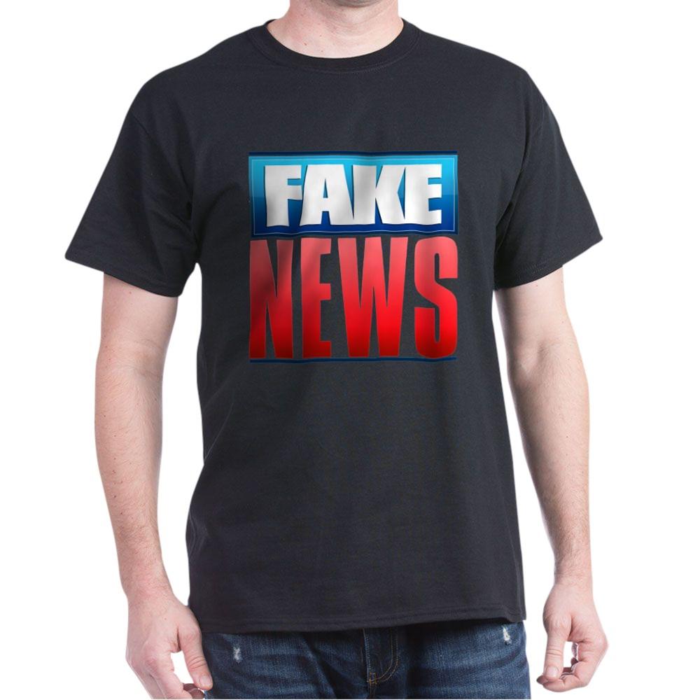 Fake News Network Logo Dark T-Shirt
