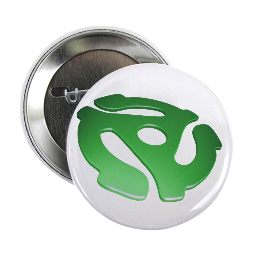 Green 3D 45 RPM Adapter 2.25