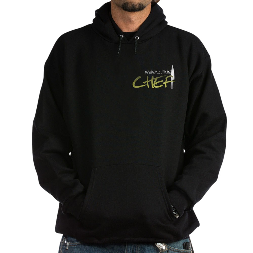 Yellow Executive Chef Dark Hoodie