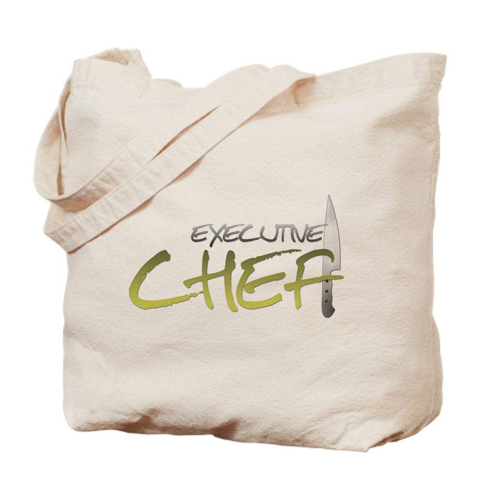Yellow Executive Chef Tote Bag