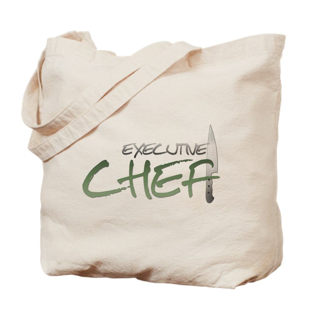 Green Executive Chef Tote Bag
