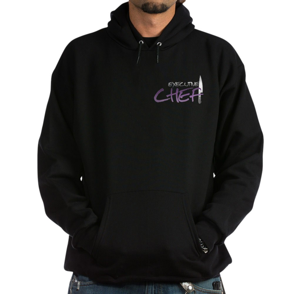 Purple Executive Chef Dark Hoodie