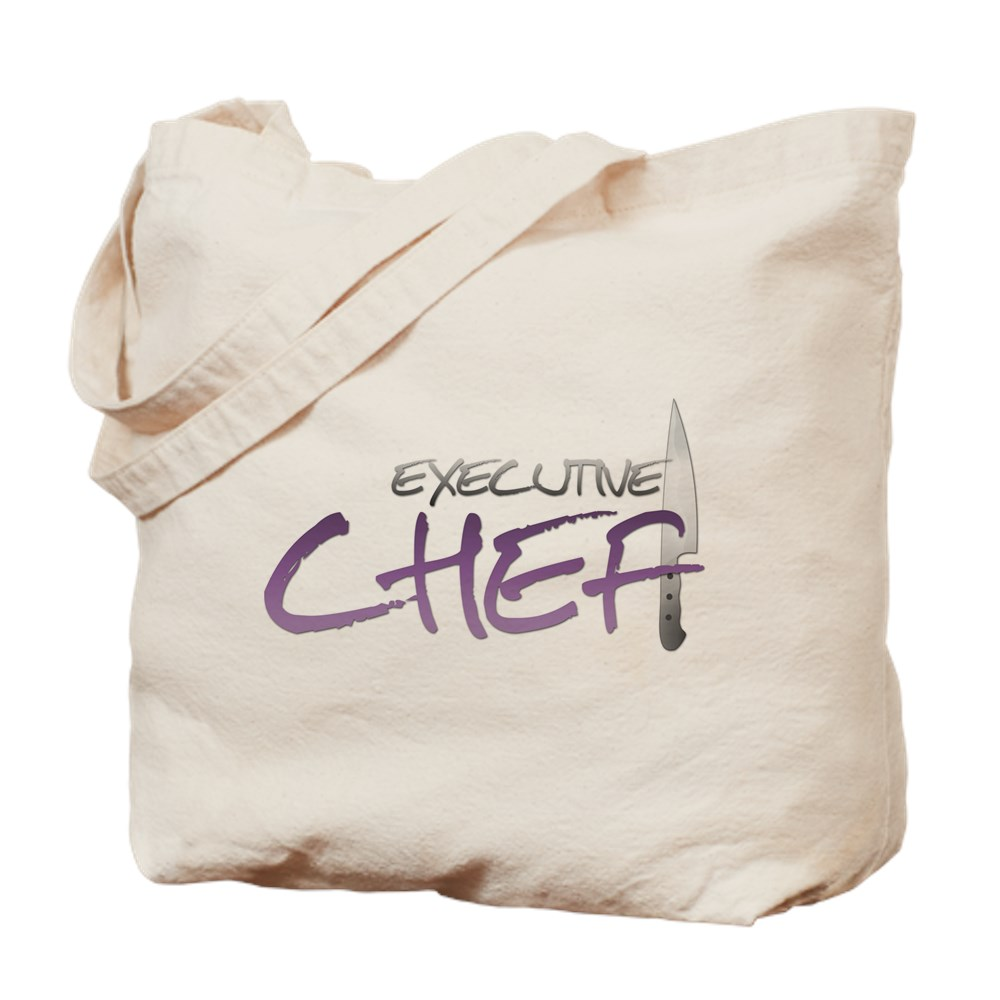 Purple Executive Chef Tote Bag