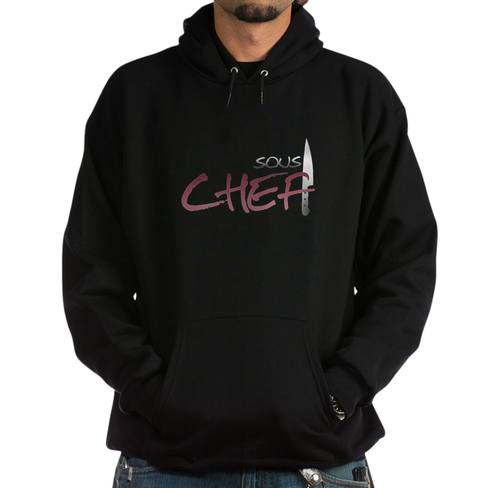 Red Sous Chef Dark Hoodie