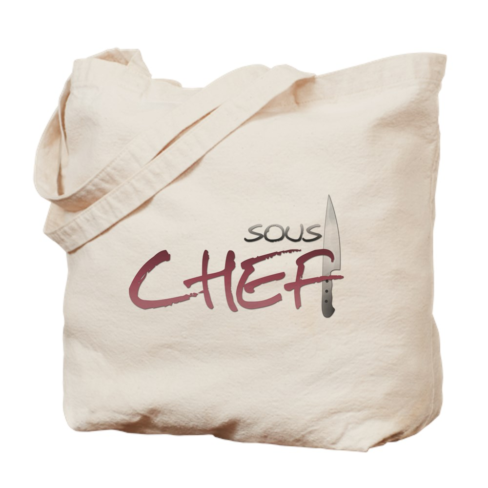 Red Sous Chef Tote Bag