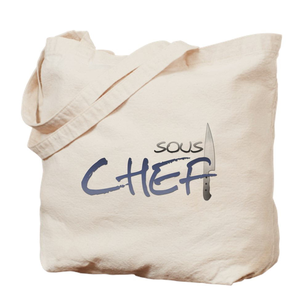 Blue Sous Chef Tote Bag