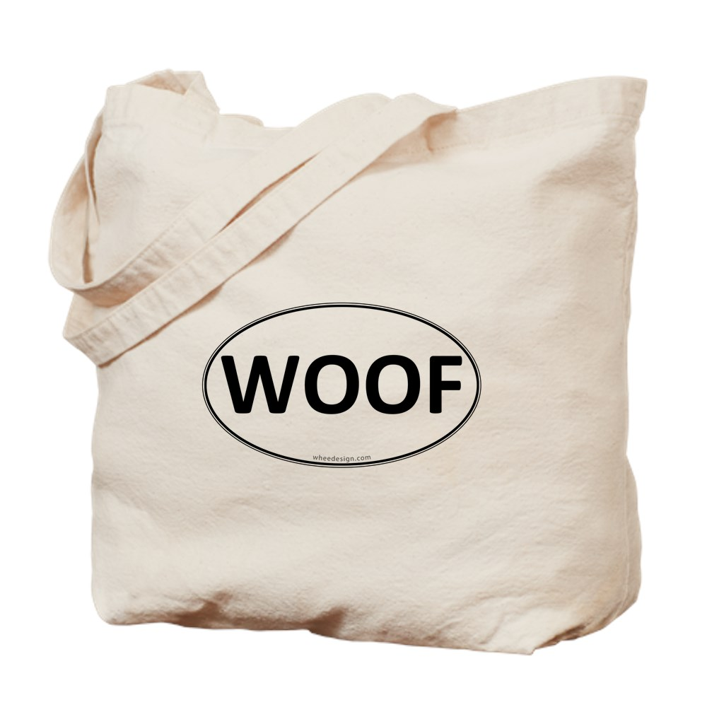 WOOF Euro Oval Tote Bag
