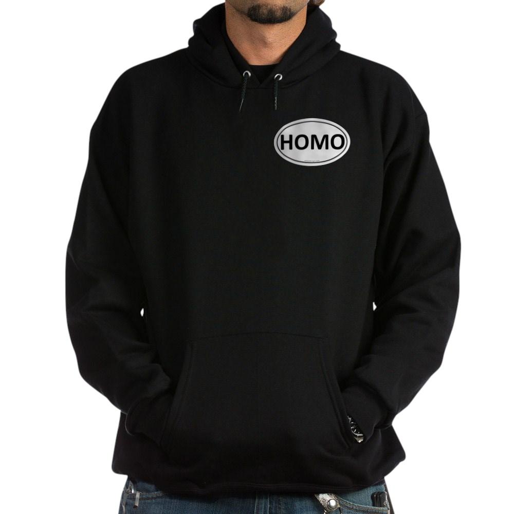 HOMO Euro Oval Dark Hoodie