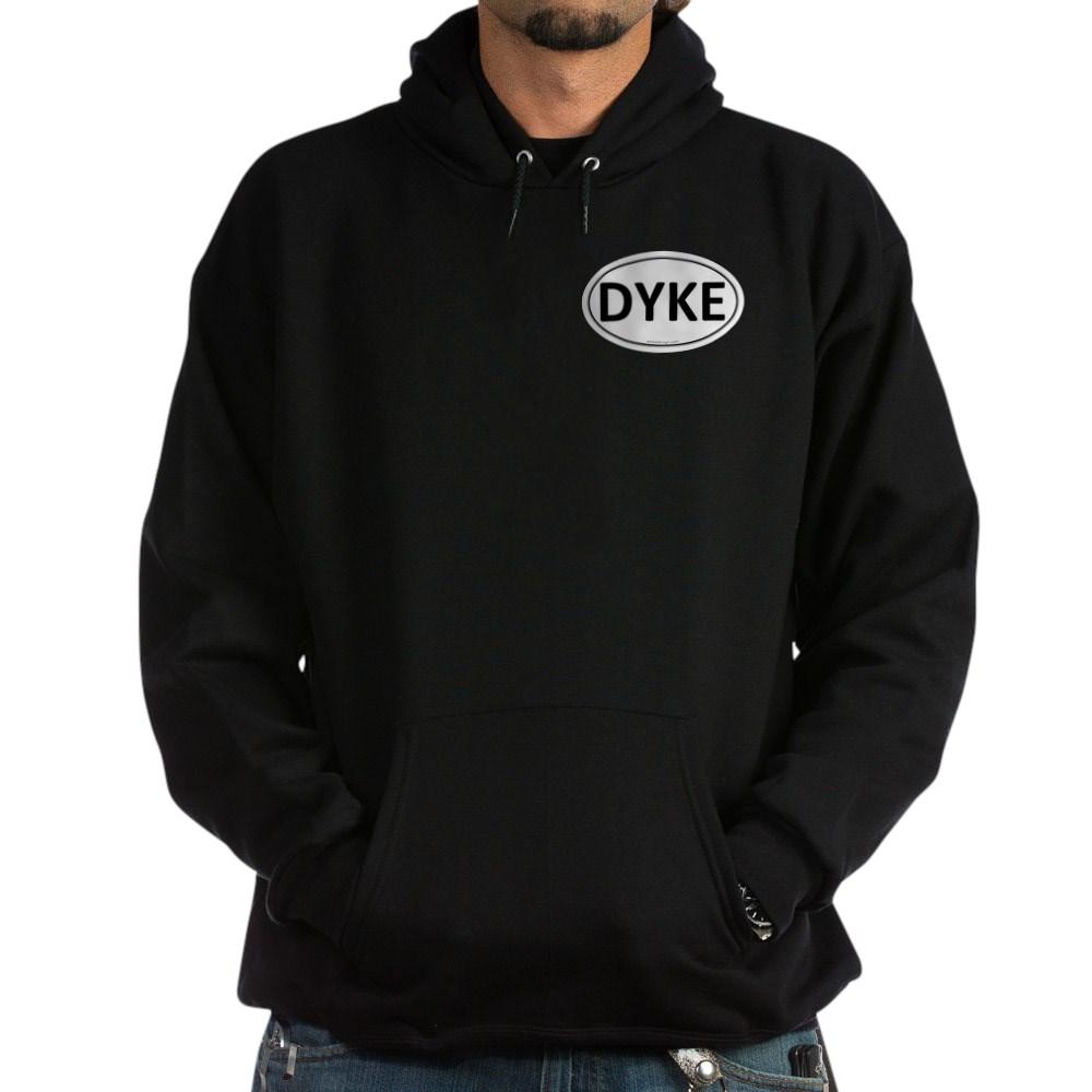 DYKE Euro Oval Dark Hoodie