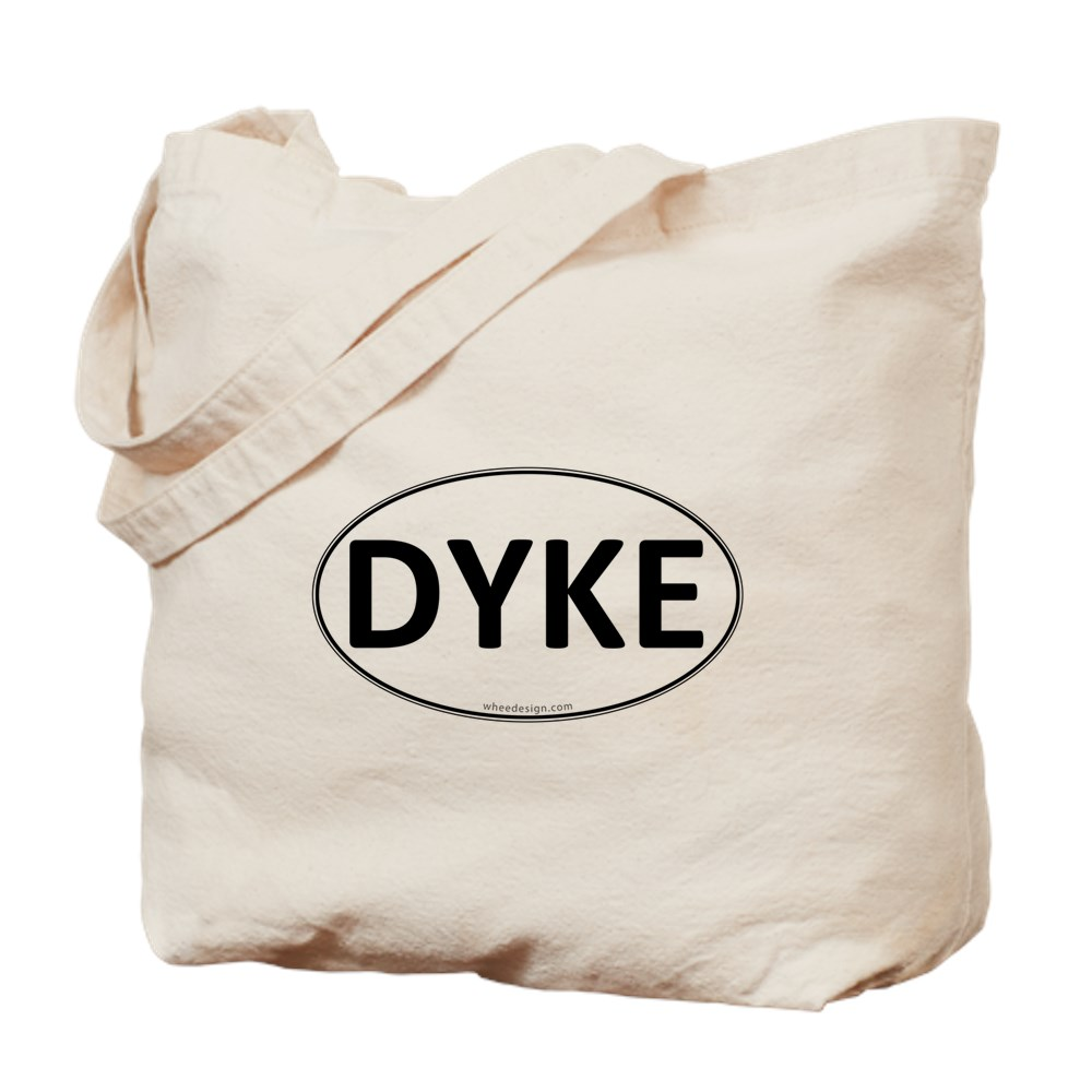 DYKE Euro Oval Tote Bag