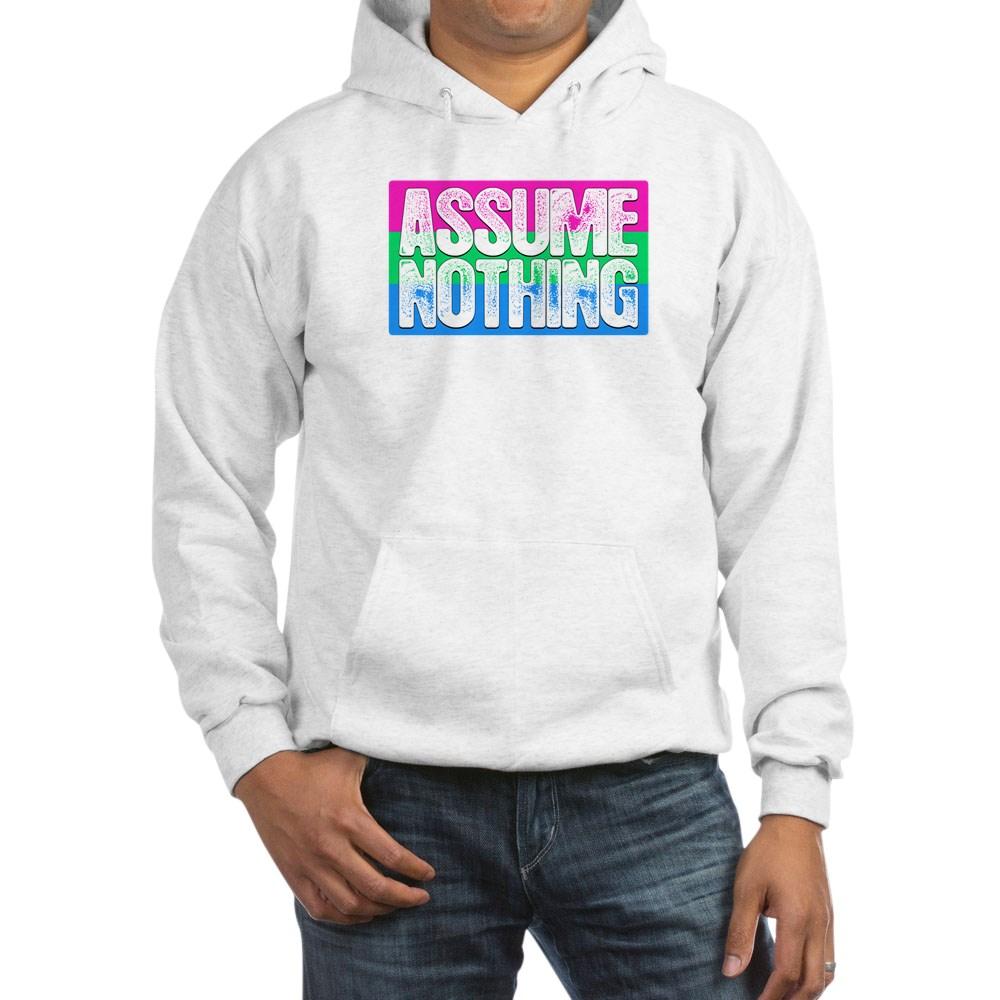 Assume Nothing Polysexual Pride Flag Hooded Sweatshirt