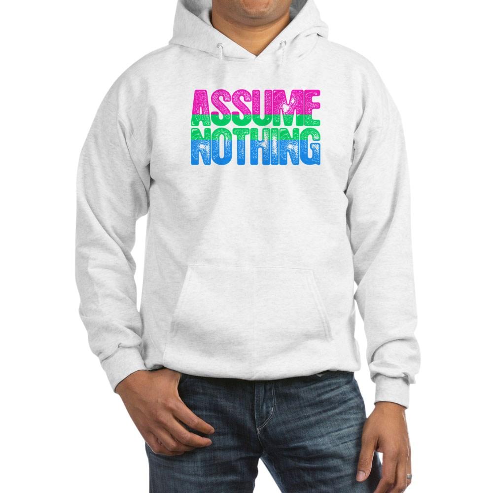 Assume Nothing Polysexual Pride Hooded Sweatshirt