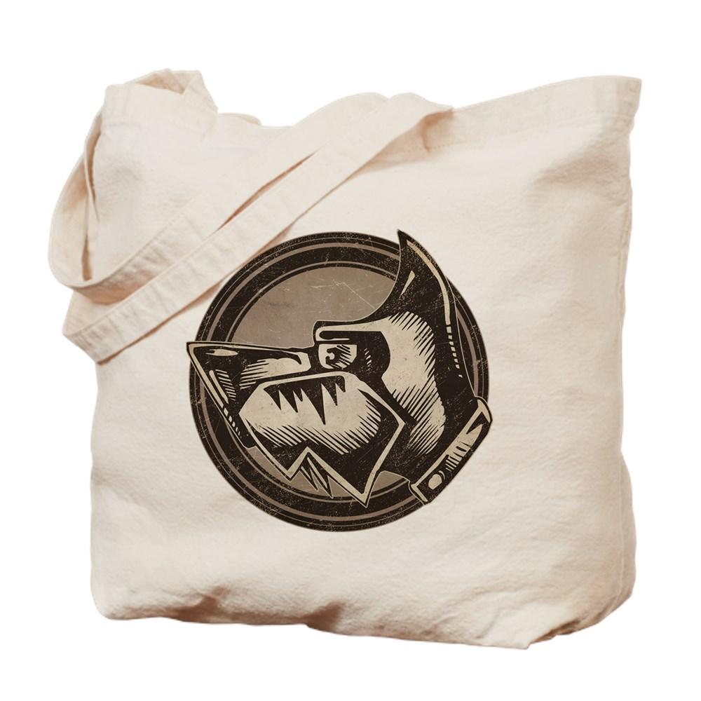 Distressed Wild Dog Stamp Tote Bag
