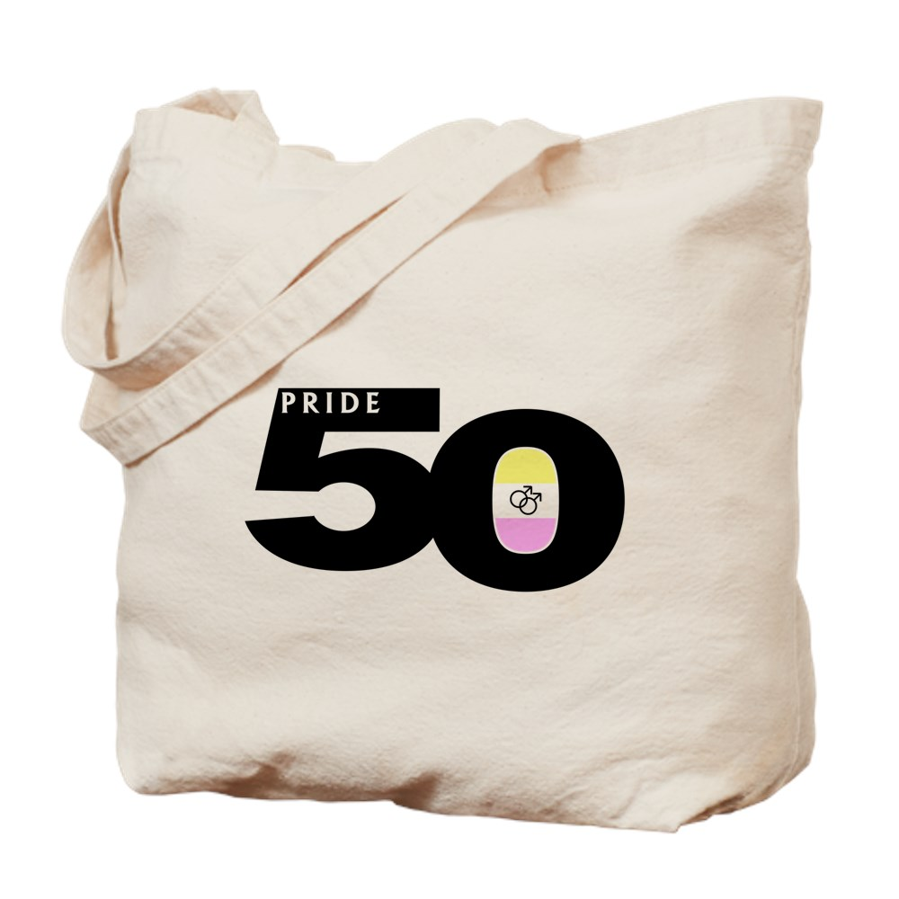 Pride 50 Gay Twink Pride Flag Tote Bag
