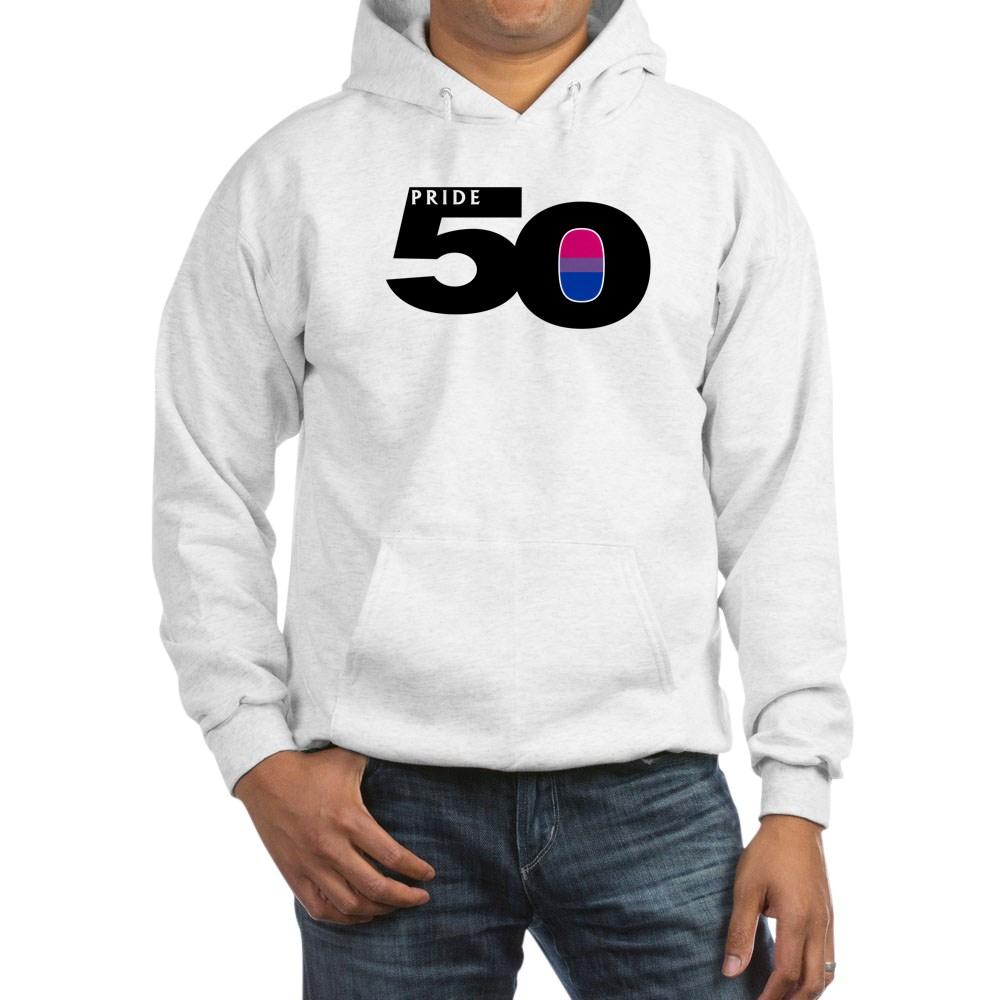 Pride 50 Bisexual Pride Flag Hooded Sweatshirt