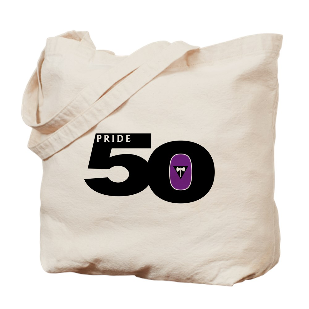 Pride 50 Lesbian Labrys Pride Flag Tote Bag