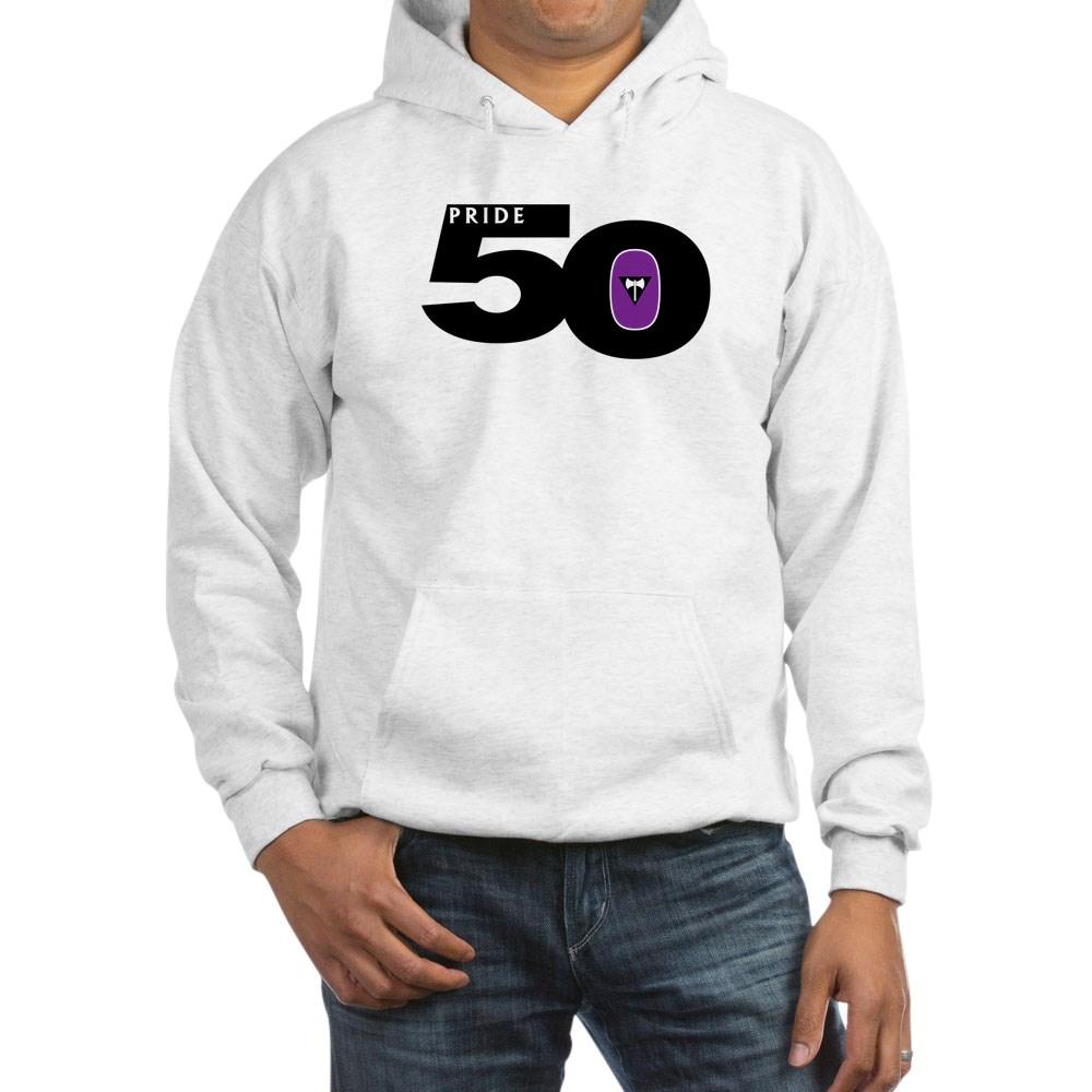 Pride 50 Lesbian Labrys Pride Flag Hooded Sweatshirt
