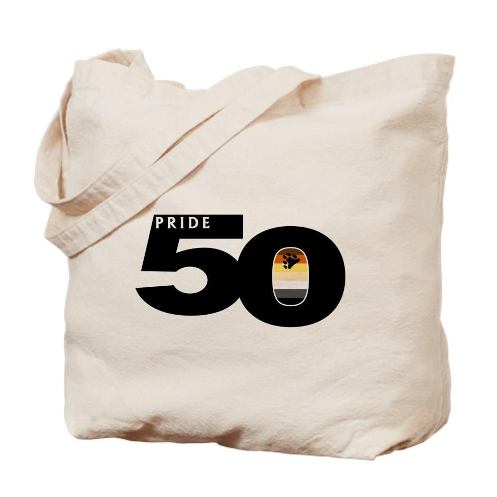 Pride 50 Gay Bear Pride Flag Tote Bag
