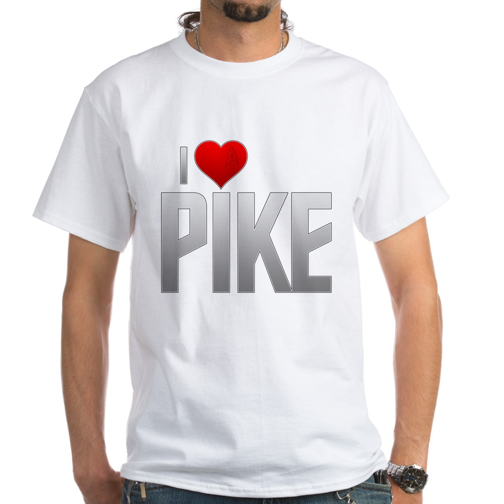 I Heart Pike White T-Shirt