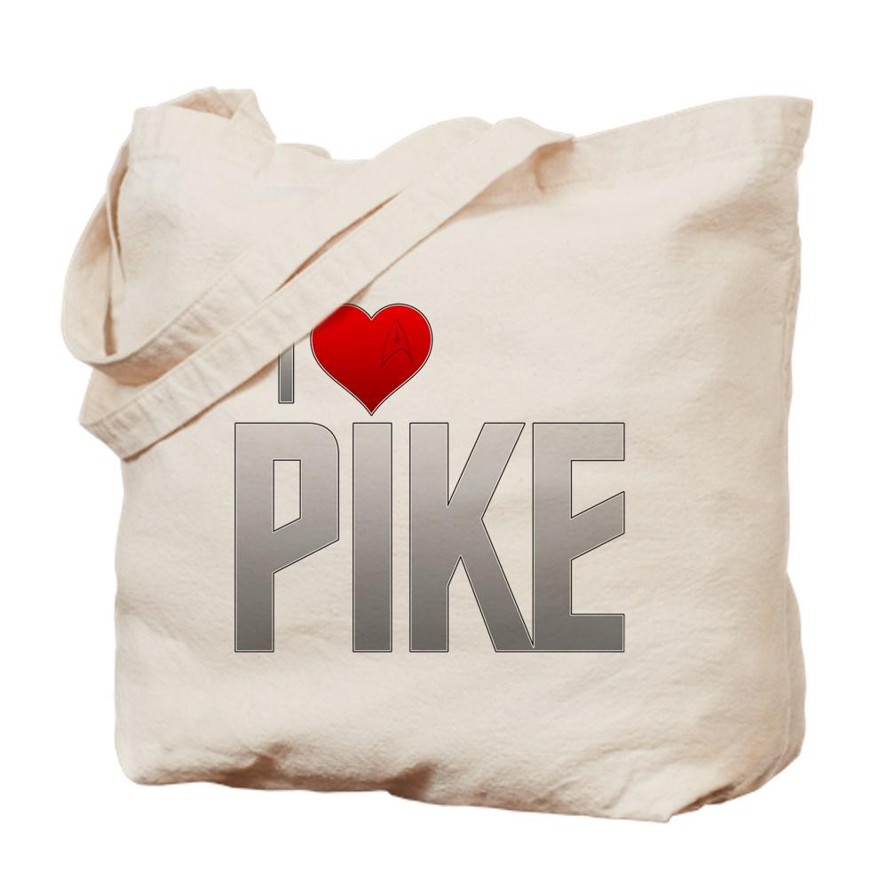 I Heart Pike Tote Bag