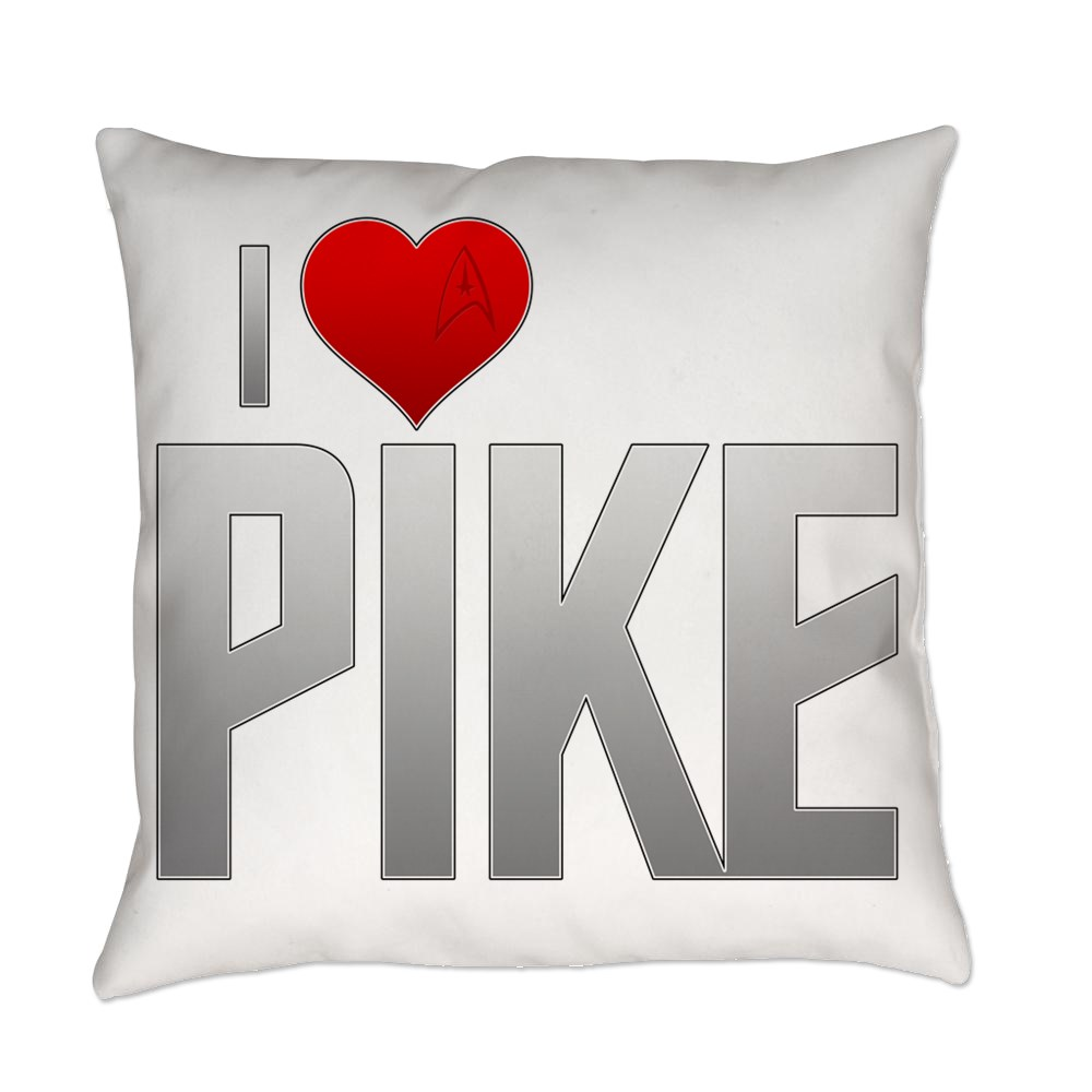 I Heart Pike Everyday Pillow