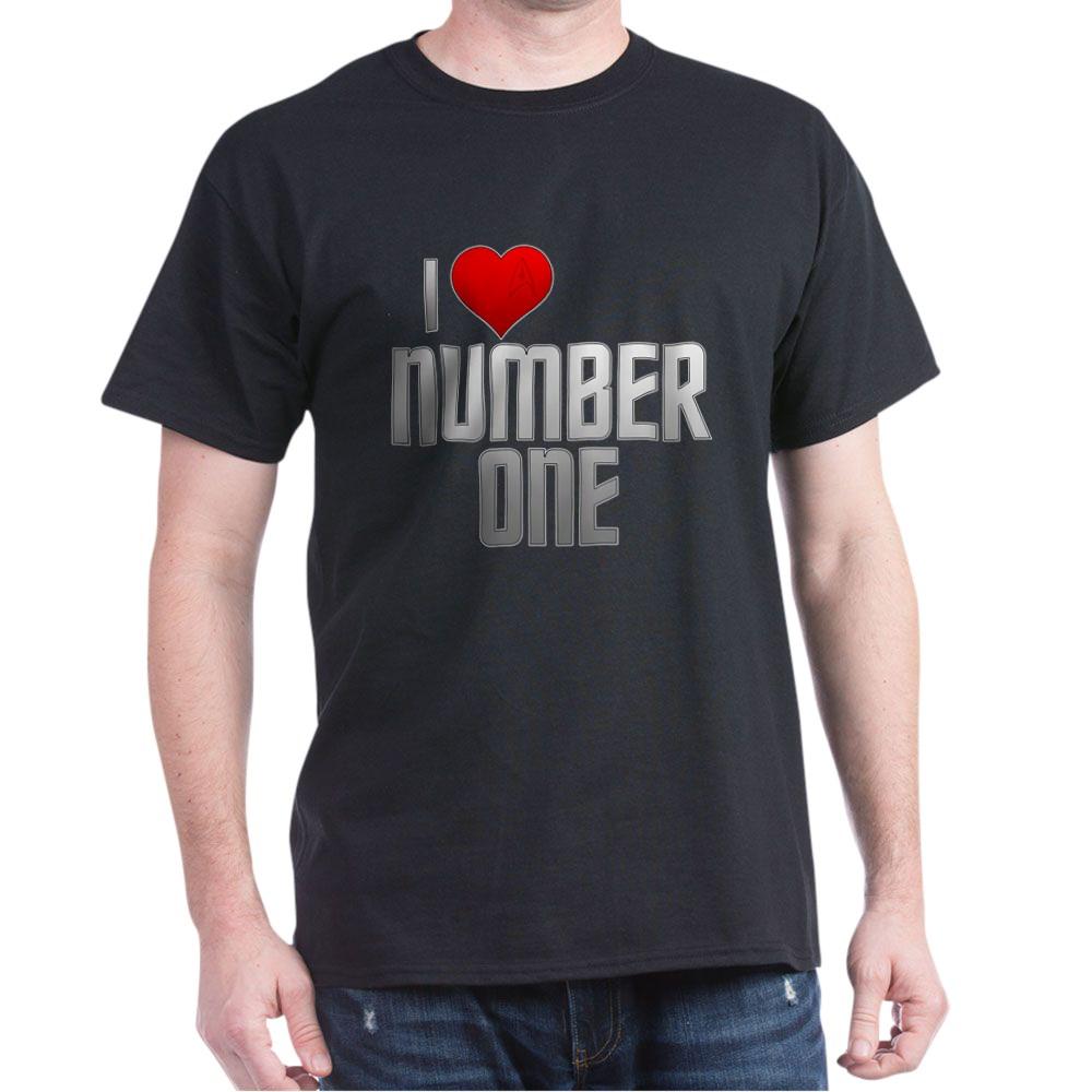 I Heart Number One Dark T-Shirt