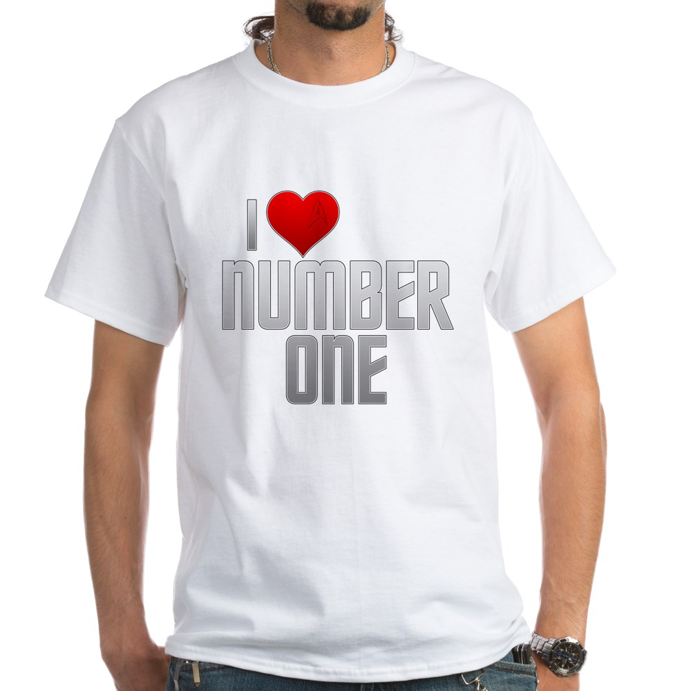 I Heart Number One White T-Shirt
