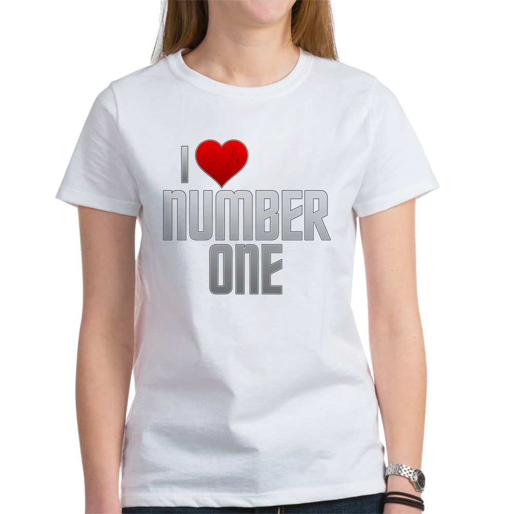 I Heart Number One Women's T-Shirt