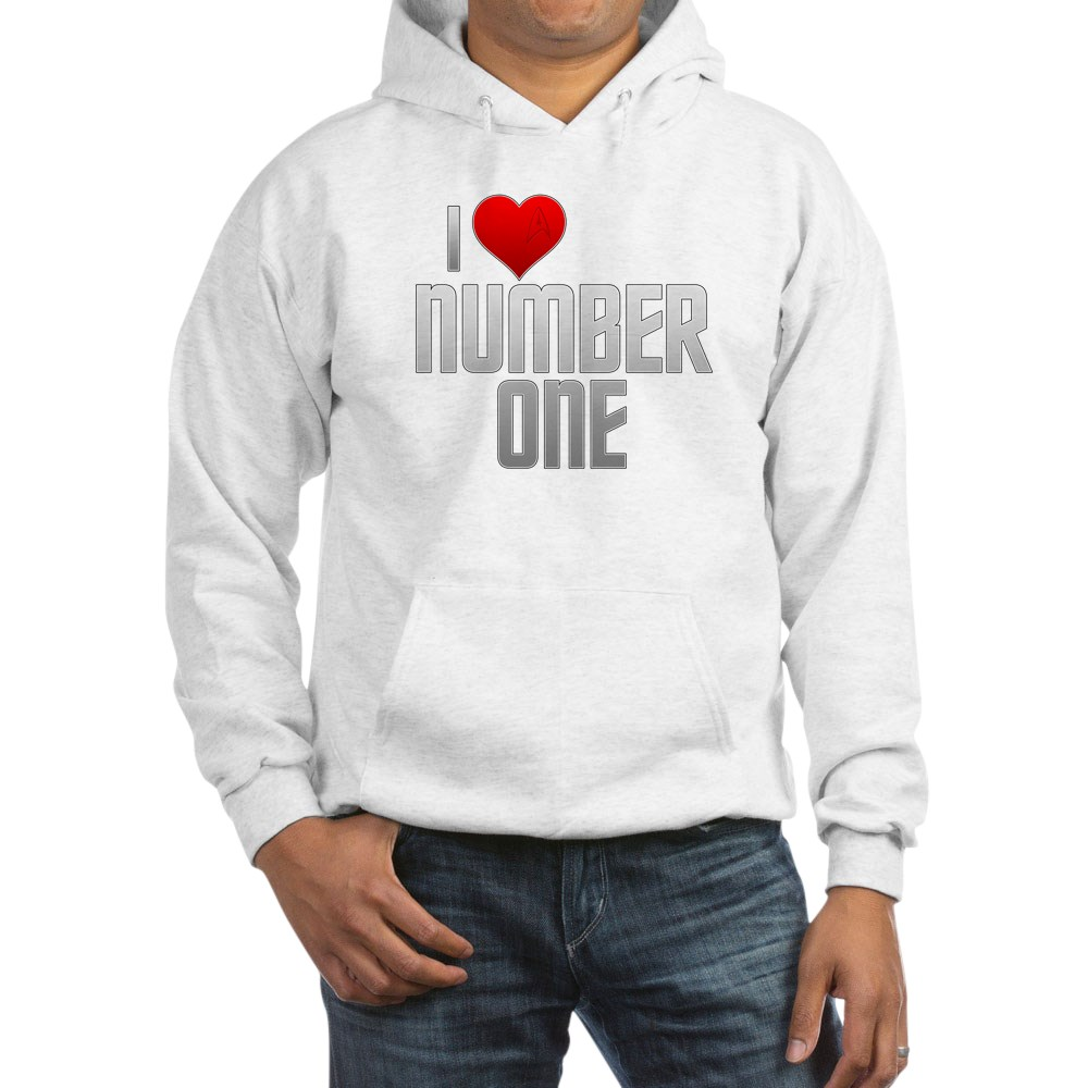 I Heart Number One Hooded Sweatshirt