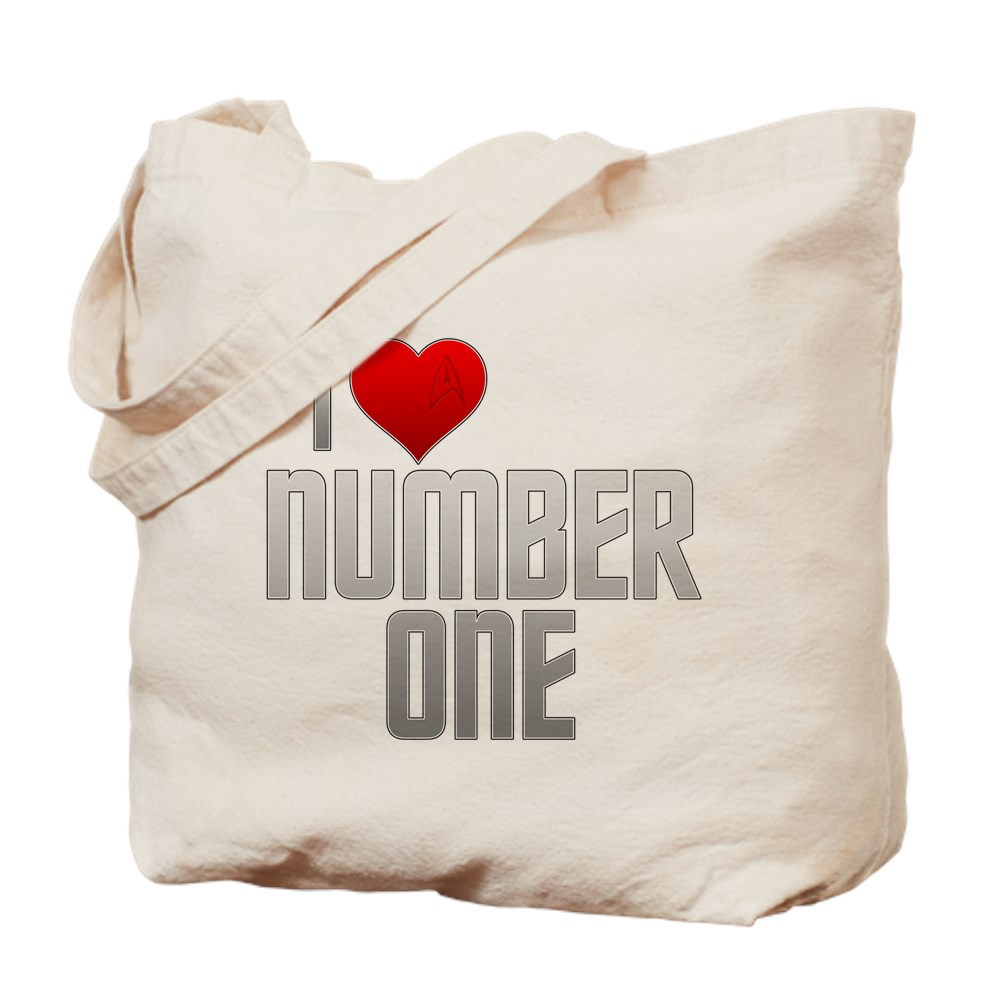 I Heart Number One Tote Bag