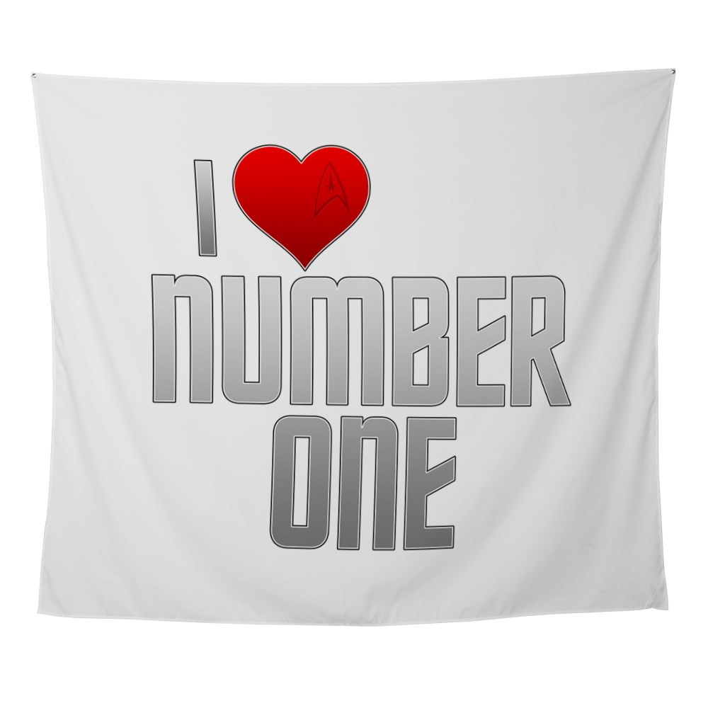 I Heart Number One Wall Tapestry