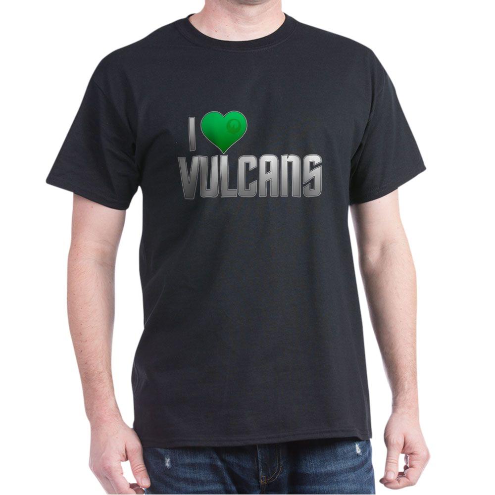I Heart Vulcans Dark T-Shirt