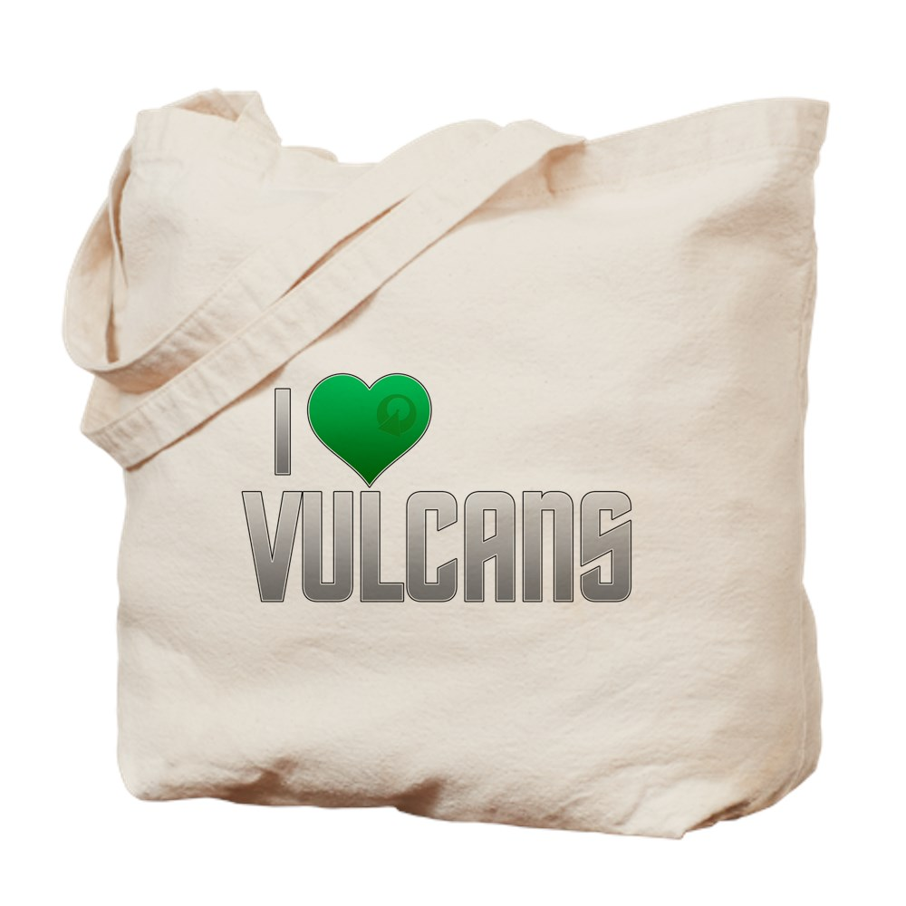 I Heart Vulcans Tote Bag