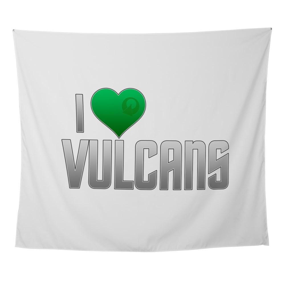 I Heart Vulcans Wall Tapestry